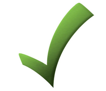 Check ok spunta verde