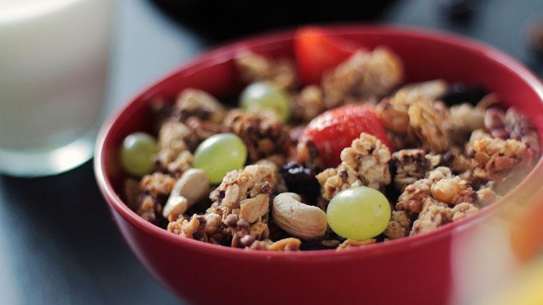 Muesli con vari cereali