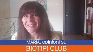 Opinioni di Maria su Biotipi Club di Simona Oberhammer