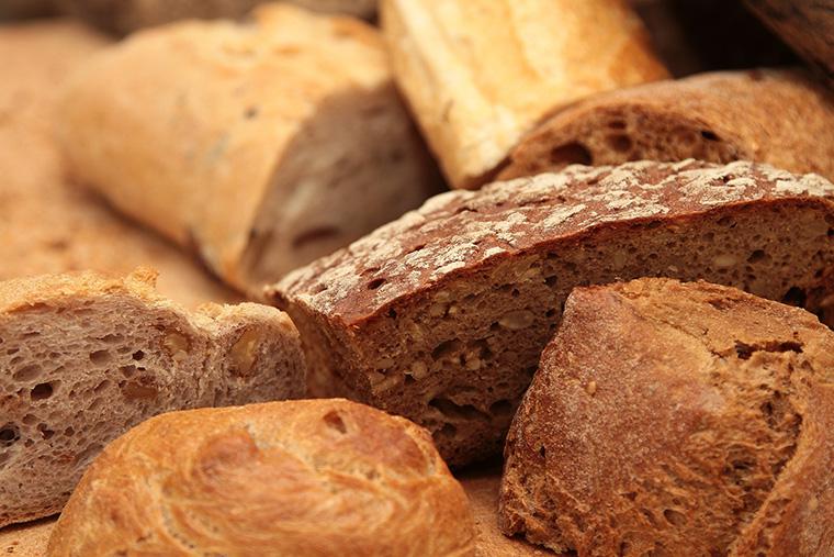 Riconoscere pane integrale da pane con aggiunta di crusca