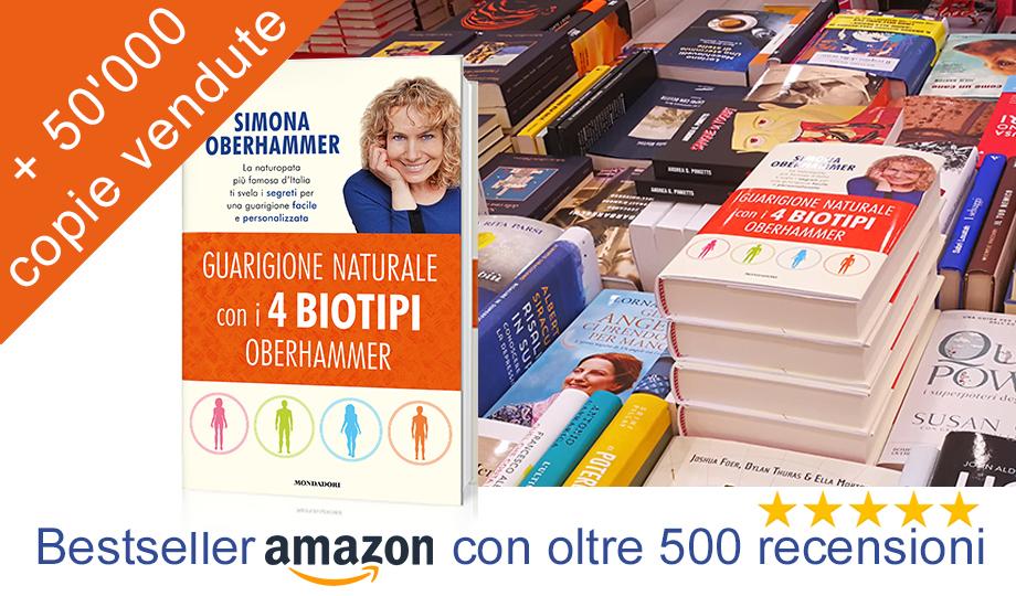 Libro Guarigione Naturale con i 4 Biotipi Oberhammer Mondadori
