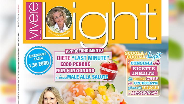 Copertina articolo Fagiolini rivista Vivere Light