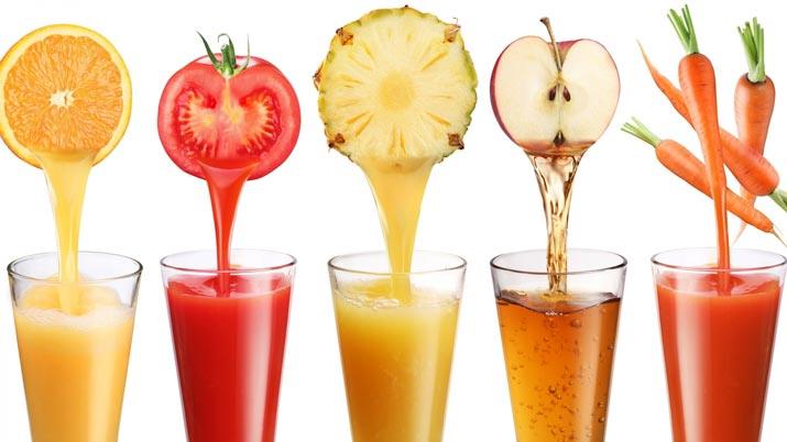 Da frutta verdura a succo