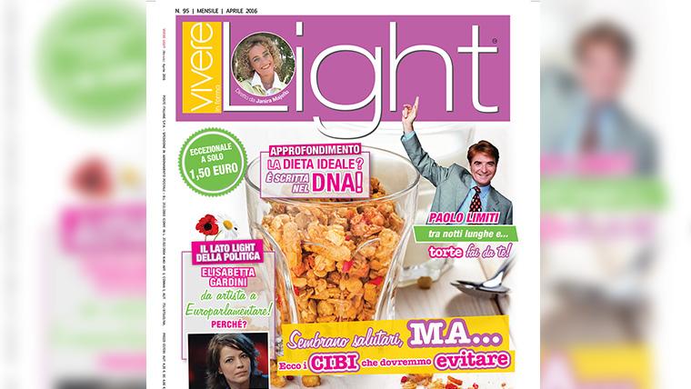 Rivista Vivere LIght - Articolo sulle fragole di Simona Oberhammer