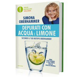 Copertina Depurati con acqua e limone secondo il tuo Biotipo Oberhammer - Bestseller Mondadori