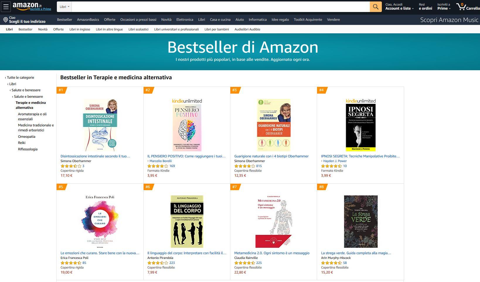 Disintossicazione Intestinale e Guarigione Naturale - best seller Amazon