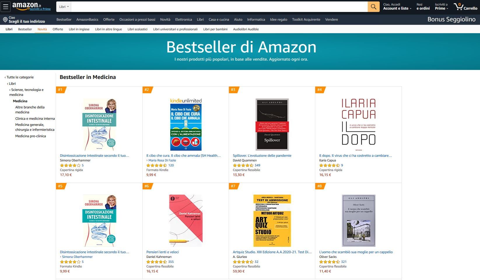 bestseller-medicina-posizione1-5kindle