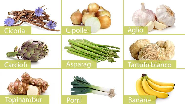 Alimenti che contengono inulina