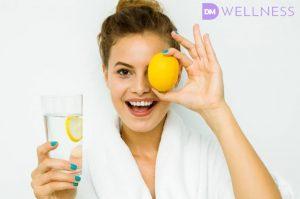 Donnamoderna articolo acqua e limone